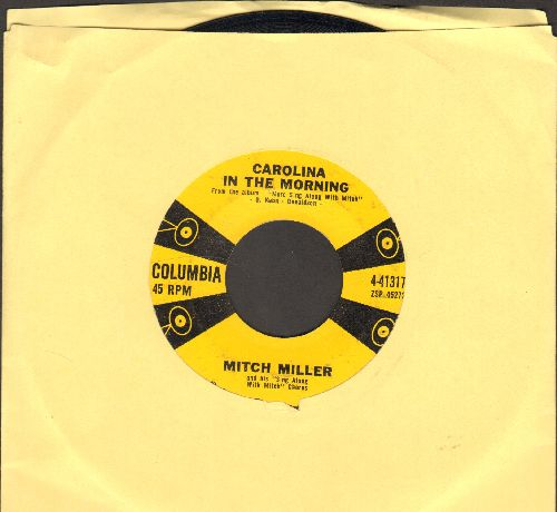 Miller, Mitch - Carolina In The Morning/The Children's Marching Song  - EX8/ - 45 rpm Records