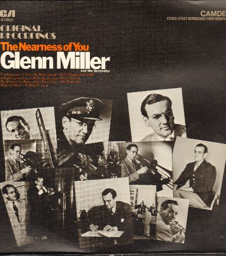 Miller, Glenn & His Orchestra - The Nearness Of You - Original Recordings: Fools Rush In, My Blue Heaven, My Melancholy Baby (vinyl LP record, 1980s issue of vintage recordings) - NM9/NM9 - LP Records