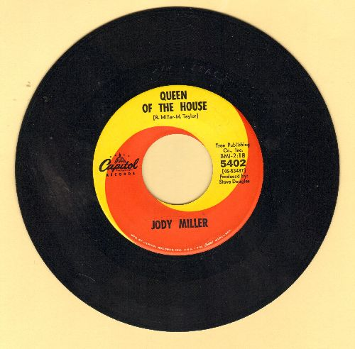 Miller, Jody - Queen Of The House (ANSWER to Roger Miller's Hit -King Of The Road-)/The Greatest Actor  - EX8/ - 45 rpm Records
