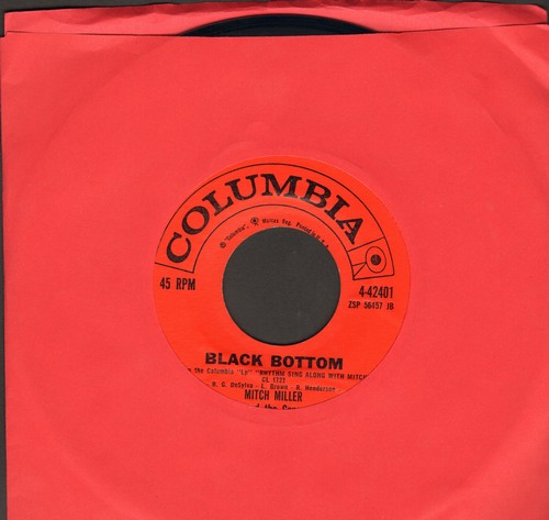 Miller, Mitch & The Gang - Black Bottom/Bidin' My Time (MINT condion!) - M10/ - 45 rpm Records