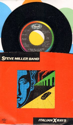 Miller, Steve Band - Italian X Rays/Who Do You Love (with picture sleeve) - NM9/NM9 - 45 rpm Records