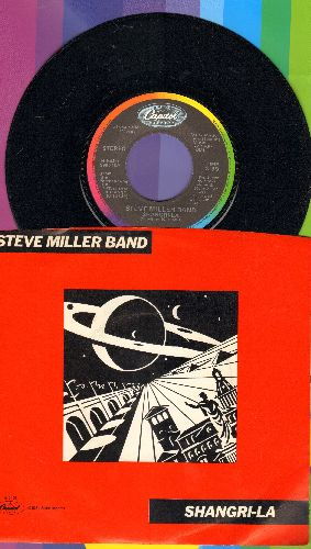 Miller, Steve Band - Shangri-La/Circle Of Love (with picture sleeve) - NM9/NM9 - 45 rpm Records