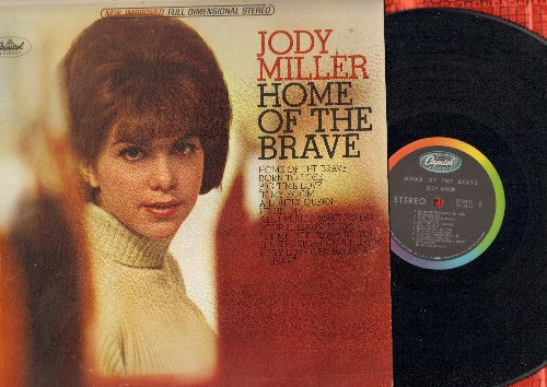Miller, Jody - Home Of The Brave: Born To Lose, He Hit Me, Only Love Can Brwak A Heart, Your Cheatin' Heart (vinyl STEREO LP record) - NM9/EX8 - LP Records