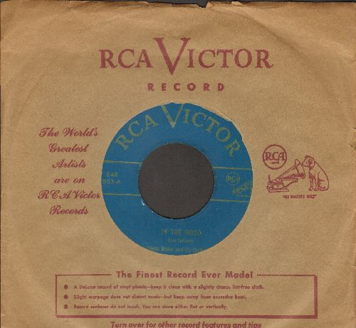Miller, Glenn & His Orchestra - In The Mood (ALL-TIME #1 BIG BAND TUNE!)/Little Brown Jug (1950s issue of vintage recordings with vintage RCA company sleeve) - EX8/ - 45 rpm Records