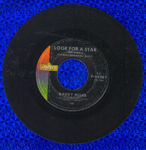 Miles, Garry - Look For A Star (Love Theme from film -Circus Of Horrors-)/Afraid Of Love - VG6/ - 45 rpm Records