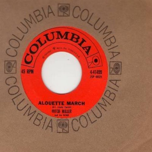 Miller, Mitch & His Band - Alouette March/Do-Re-Mi (with Columbia company sleeve) - NM9/ - 45 rpm Records