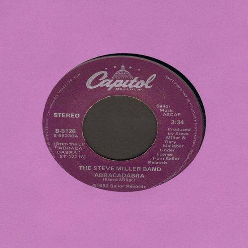 Miller, Steve Band - Abracadabra/Baby Wanna Dance - VG7/ - 45 rpm Records
