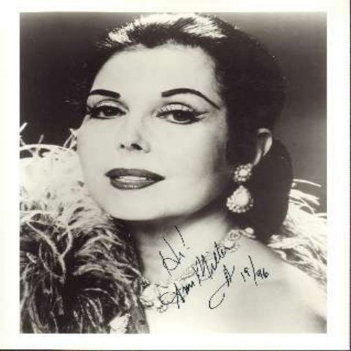 Miller, Ann - Personalized 8 X 1+C2420 black & white AUTOGRAPH. Signed