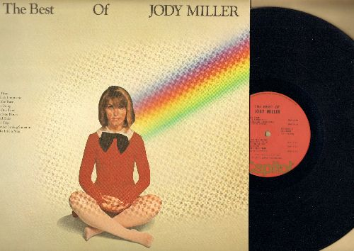Miller, Jody - The Best Of: Johnny One Time, Queen Of The House, He Walks Like A Man (vinyl STEREO LP record) - EX8/NM9 - LP Records