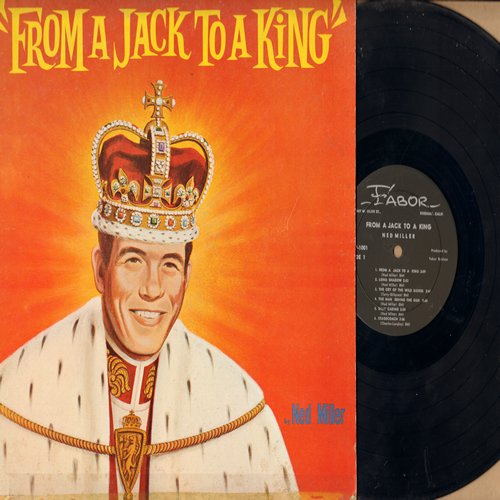 Miller, Ned - From A Jack To A King: Stagecoach, Bill Carino, Mona Lisa, Just Before Dawn (vinyl MONO LP record) - EX8/VG7 - LP Records