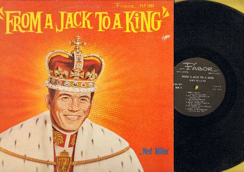 Miller, Ned - From A Jack To A King: Stagecoach, Bill Carino, Mona Lisa, Just Before Dawn (vinyl MONO LP record) - NM9/EX8 - LP Records