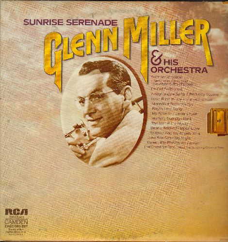 Miller, Glenn & His Orchestra - Sunrise Serenade: The White Cliffs Of Dover, Three Little Fishies, Juke Box Saturday Night (re-issue of vintage recordings on 2 vinyl STEREO LP records, gate-fold cover) - NM9/EX8 - LP Records