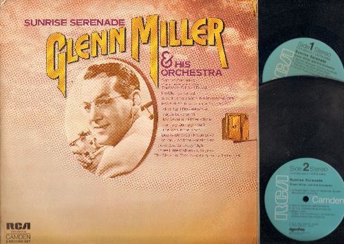 Miller, Glenn & His Orchestra - Sunrise Serenade: The White Cliffs Of Dover, Fools Rush In, Three Little Fishies, Juke Box Saturday Night (2 vinly LP record set, gate-fold cover) - NM9/EX8 - LP Records