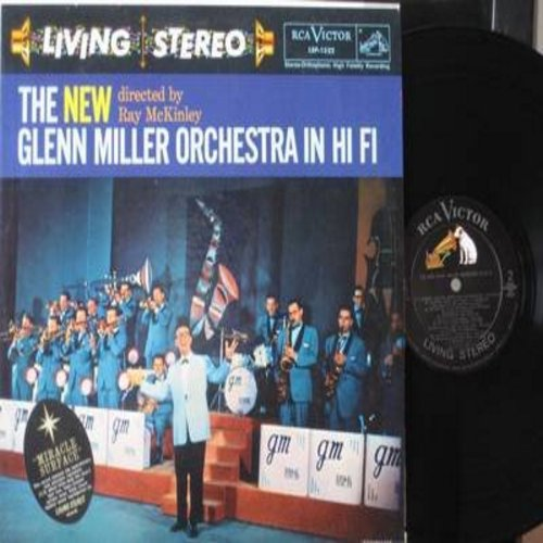 Miller, Glenn Orchestra - The NEW Glenn Miller Orchestra: Anything Goes, My Prayer, On The Street Where You Live, Accentuate The Positive (vinyl STEREO LP record, NICE condition!) - M10/M10 - LP Records