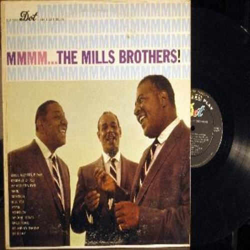 Mills Brothers - MMMM…The Mills Brothers!: My Mother's Eyes, Maybe, My Blue Heaven, My Buddy, Music Maestro Please (vinyl MONO LP record) - EX8/EX8 - LP Records