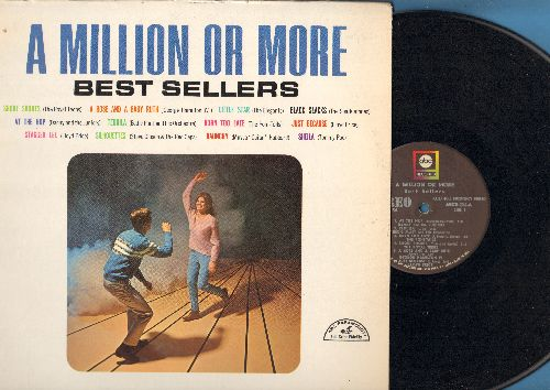 Danny & The Juniors, Elegants, Poni-Tails, others - A Million Or More - Best Sellers: At The Hop, Short Shorts, Little Star, Sheila, Black Slacks, Stagger Lee (vinyl STEREO LP record) - NM9/EX8 - LP Records