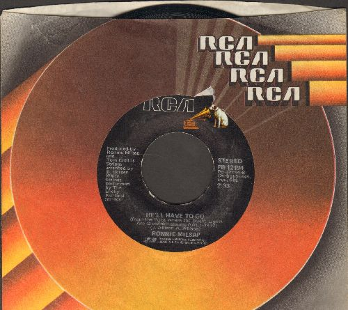 Milsap, Ronnie - He'll Have To Go/Am I Losing You (with RCA company sleeve) - NM9/ - 45 rpm Records