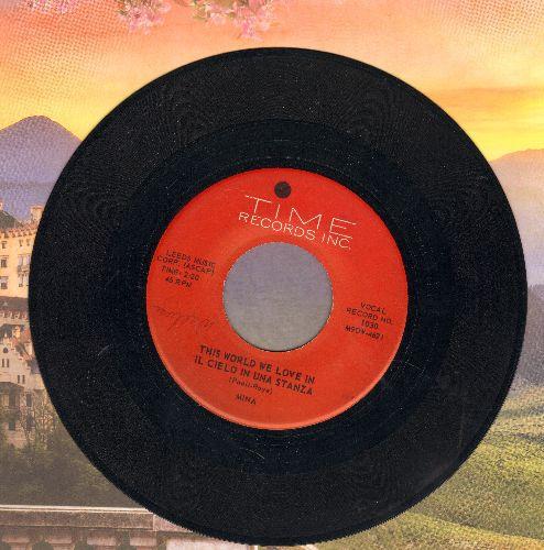 Mina il cielo in una stanza records lps vinyl and cds for Il cielo in una stanza autore