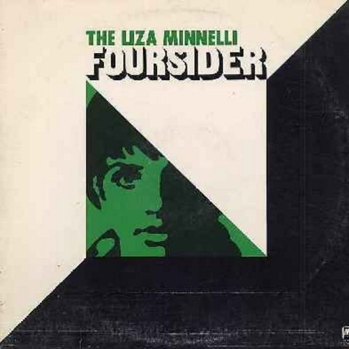Minnelli, Liza - Foursider: Liza (With A Z), Cabaret, Everybody's Talkin', Married, Leavin' On A Jet Plane, Come Rain Or Come Shine, My Mammy, Maybe This Time (2 vinyl STEREO LP record set, counts as 2 LPs) - EX8/VG7 - LP Records