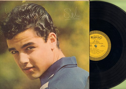 Mineo, Sal - Sal: Too Young, My Bride, Baby Face, Now And For Always (vinyl MONO LP record) - EX8/VG7 - LP Records