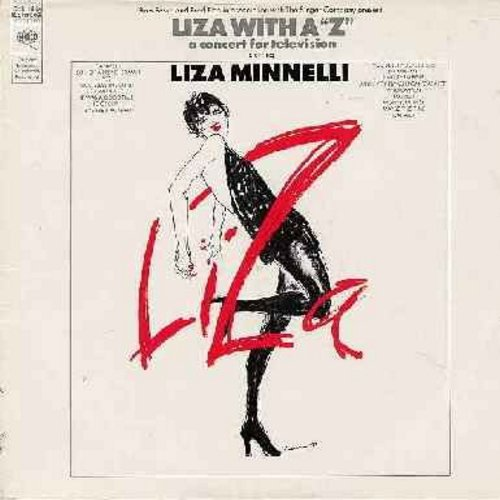 Minnelli, Liza - Liza With A >Z< - A Concert For Television: Cabaret, Bye Bye Blackbird, My Mammy, Ring Them Bells, Married, Money Money, Maybe This Time (vinyl STEREO LP record) - EX8/VG7 - LP Records