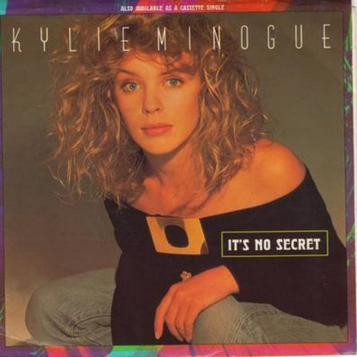 Minogue, Kylie - It's No Secret/Made In Heaven (with picture sleeve) - NM9/EX8 - 45 rpm Records