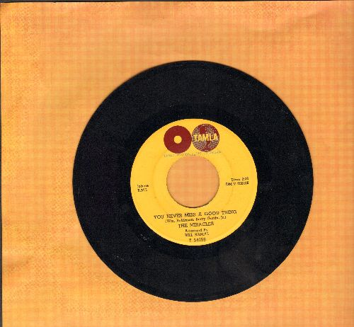 Miracles - You Never Miss A Good Thing/I'll Try Something New (wol) - EX8/ - 45 rpm Records