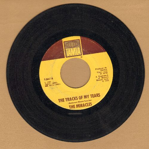 Miracles - The Tracks Of My Tears/A Fork In The Road - VG7/ - 45 rpm Records