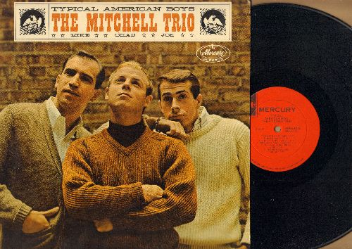 Mitchell, Chad Trio - Typical American Boys: You Were On My Mind, Jesse James, Cherry Tree Carol, Waves On The Sea, One Man's Hand (vinyl MONO LP record, NICE condition!) - NM9/NM9 - LP Records