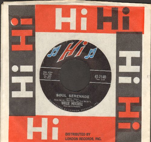 Mitchell, Willie - Soul Serenade/Mercy Mercy Mercy (with Hi company sleeve) - NM9/ - 45 rpm Records