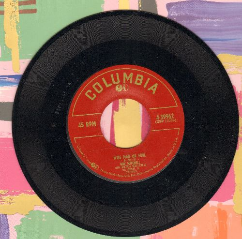 Mitchell, Guy - Wise Man Or Fool/Walkin' And Wond'rin' - EX8/ - 45 rpm Records