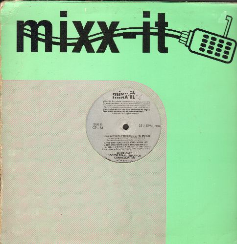 Various Artists - You can't Touch This/New Jack Mix/The Ruff Stuff/Humpty Dance + 2 (RARE DJ Presing featuring 6 Hip-Hop Tracks by various artists) - EX8/ - Maxi Singles