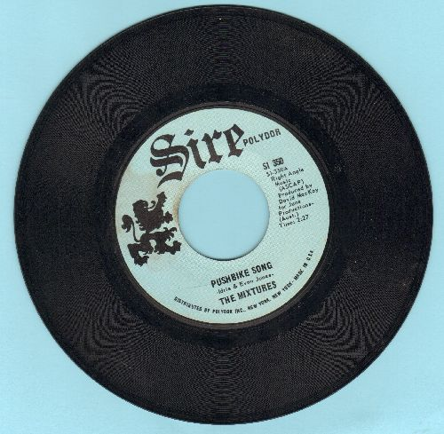Mixtures - Pushbike Song/Who Loves Ya  - EX8/ - 45 rpm Records