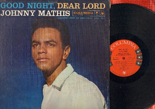 Mathis, Johnny - Good Night, Dear Lord: Swing Low Sweet Chariot, Ave Maria, The Rosary (vinyl MONO LP record) - NM9/EX8 - LP Records