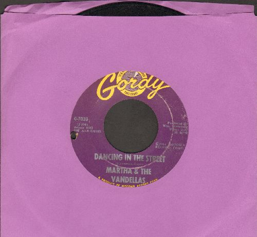 Martha & The Vandellas - Dancing In The Street/There He Is (At My Door) (bb) - EX8/ - 45 rpm Records