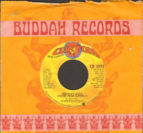 Mayfield, Curtis - Freddy's Dead (Theme From -Superfly-)/Underground - NM9/ - 45 rpm Records