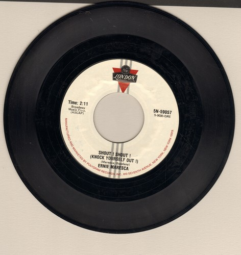 Maresca, Ernie - Shout! Shout! (Knock Yourself Out)/Bobby's Girl (by Macie Blaine on flip-side) (double-hit re-issue) - VG7/ - 45 rpm Records