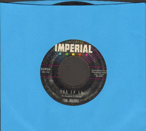 Majors - Tra La La/What Have You Been Doin' - VG7/ - 45 rpm Records