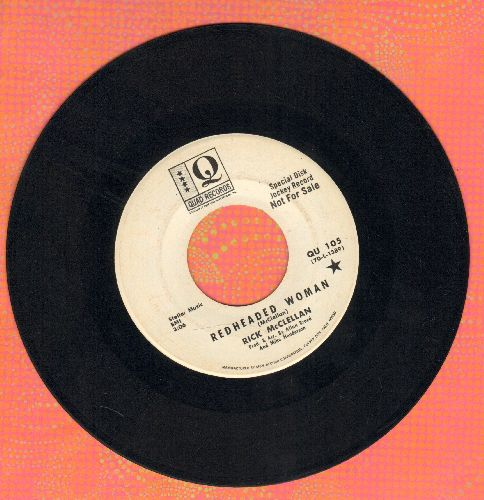 McClellan, Rick - Red Headed Woman/2:30 In The Morning (DJ advance pressing) - EX8/ - 45 rpm Records