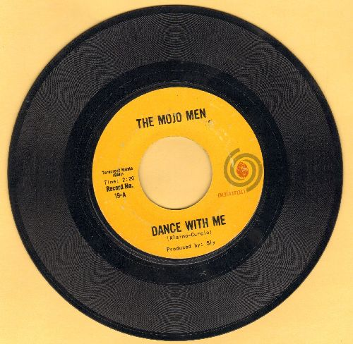 Mojo Mn - Dance With Me/Loneliest Boy In Town (label blemish on B-side) - EX8/ - 45 rpm Records