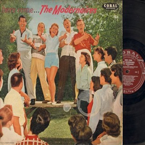 Modernaires - Here Come The Modernaires: Makin' Whoppee, Swing Low Sweet Clarinet, Blow Gabriel Blow (vinyl MONO LP record) - EX8/VG7 - LP Records