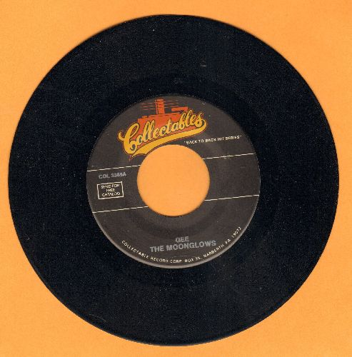 Moonglows - Gee/My Imagination (double-hit re-issue) - NM9/ - 45 rpm Records