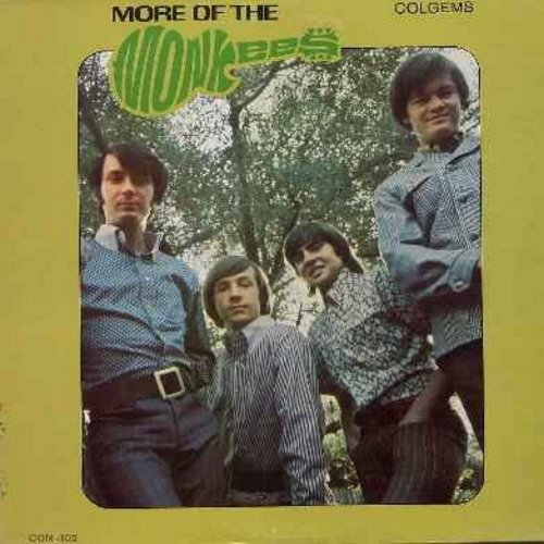 Monkees - More Of The Monkees: I'm A Believer, The Day We Fall In Love, Look Out (Here Comes Tomorrow), Your Auntie Grizelda, (I'm Not Your) Steppin' Stone (vinyl MONO LP record) - EX8/VG7 - LP Records