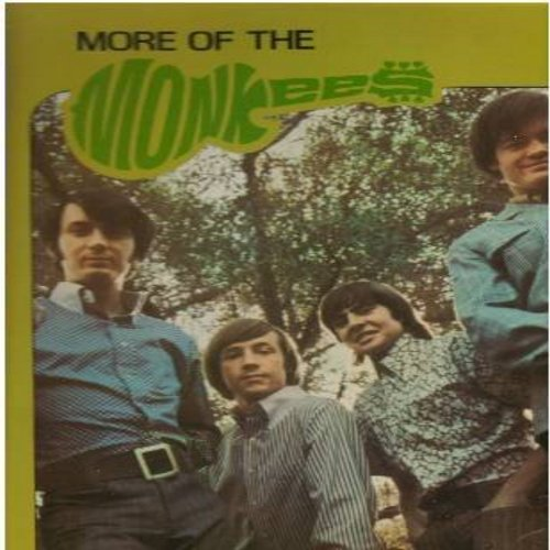 Monkees - More Of The Monkees: I'm A Believer, The Day We Fall In Love, Look Out (Here Comes Tomorrow), Your Auntie Grizelda, (I'm Not Your) Steppin' Stone (vinyl STEREO LP record, re-issue) - NM9/NM9 - LP Records