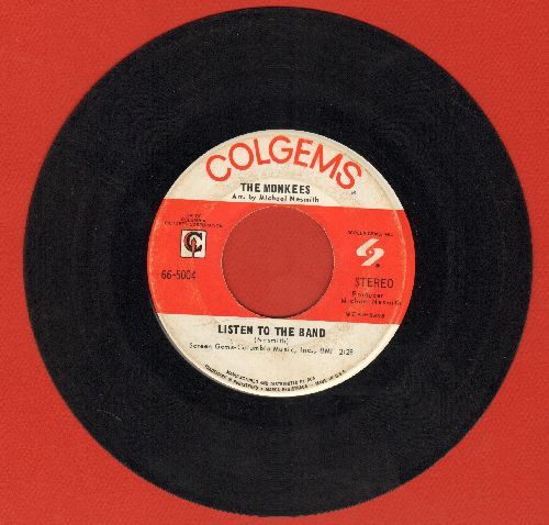 Monkees - Listen To The Band/Someday Man - EX8/ - 45 rpm Records