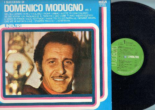 Modugno, Domenico - I Successi Di Vol. 2: Nel Blu Dipinto Di Blu (Volare), Piove, Libero, Che Me Ne Importa A Me (vinyl STEREO LP record, Italian Pressing, sung in Italian) - NM9/NM9 - LP Records