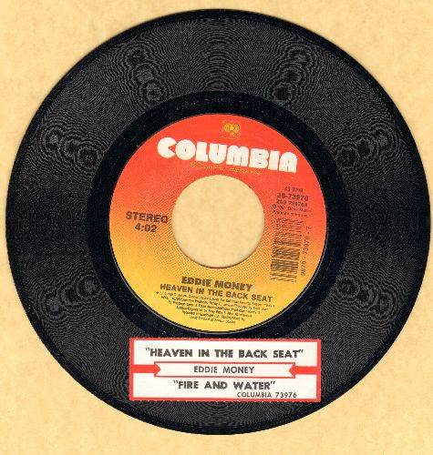 Money, Eddie - Heaven In The Back Seat/Fire And Water (with juke box label) - NM9/ - 45 rpm Records