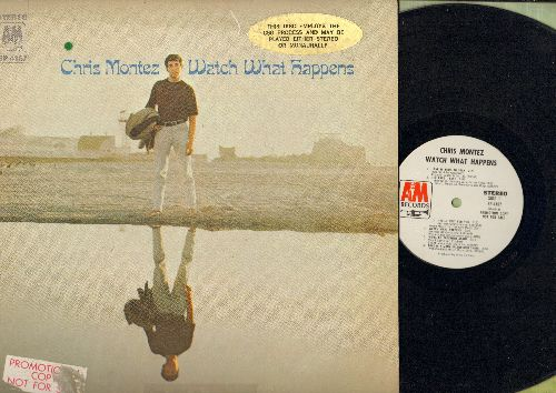 Montez, Chris - Watch What Happens: Love Is A Many Spendored Thing, The Look Of Love, I Will Wait For You (vinyl STEREO LP record, DJ advance pressing) - EX8/VG6 - LP Records