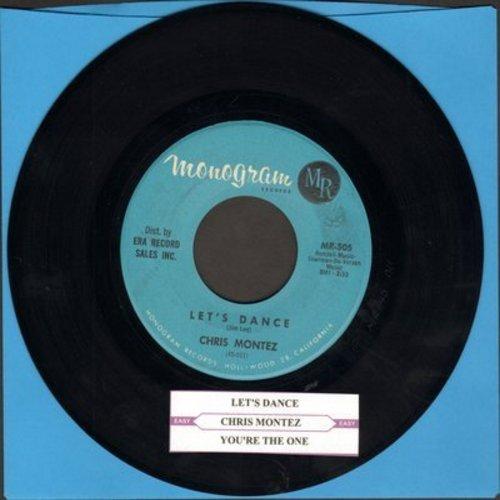 Montez, Chris - Let's Dance/You're The One - VG7/ - 45 rpm Records