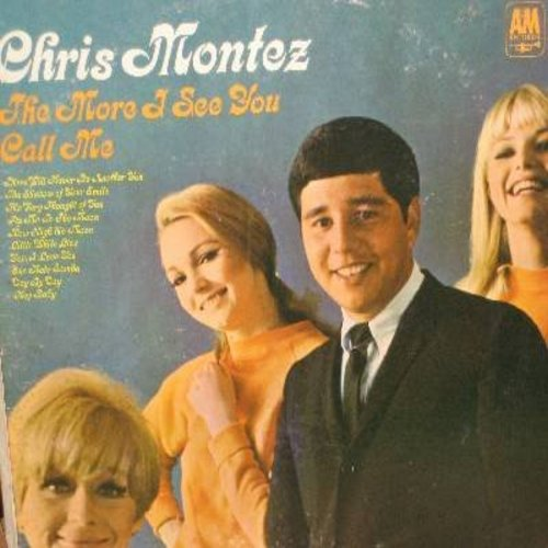 Montez, Chris - The More I See You: Call Me, There Will Never Be Another You, Fly Me To The Moon, The Very Thougght Of You (vinyl STEREO LP record) - EX8/EX8 - LP Records